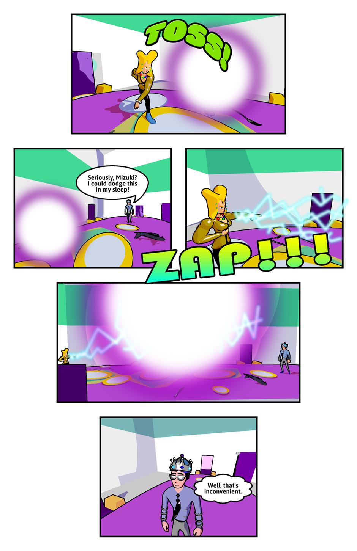 She's Using The Spirit Bomb Technique!
